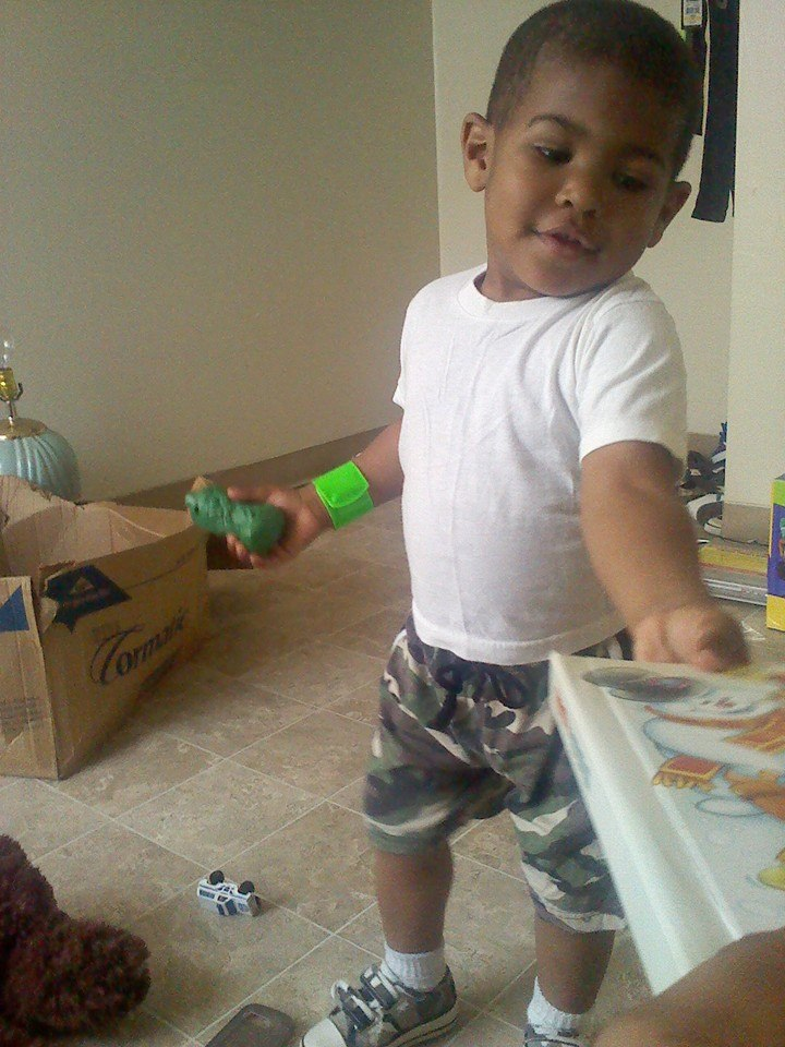 My two year old nephew Darnell by Ryanth3kill3r