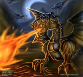 The Deadly Breath of a Dragon by ditozero21