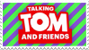 Talking Tom and Friends Stamp by StarRion20