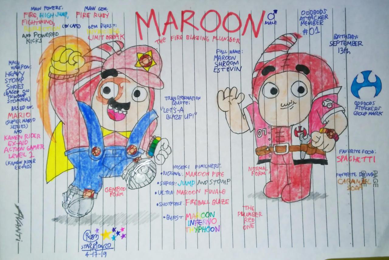 Maroon (Oc) by MaroonAbyss on DeviantArt