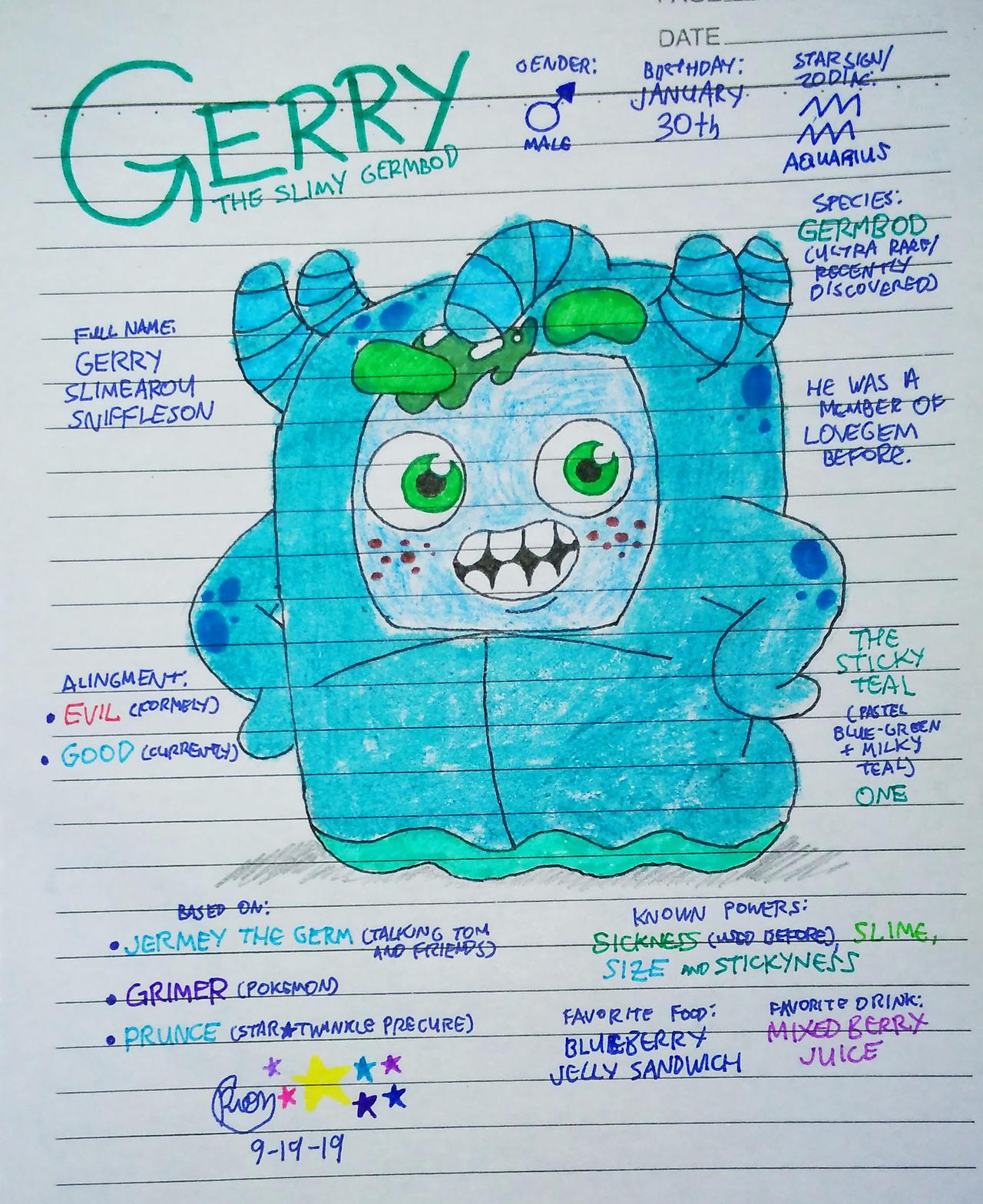 Oddbods OC | Gerry
