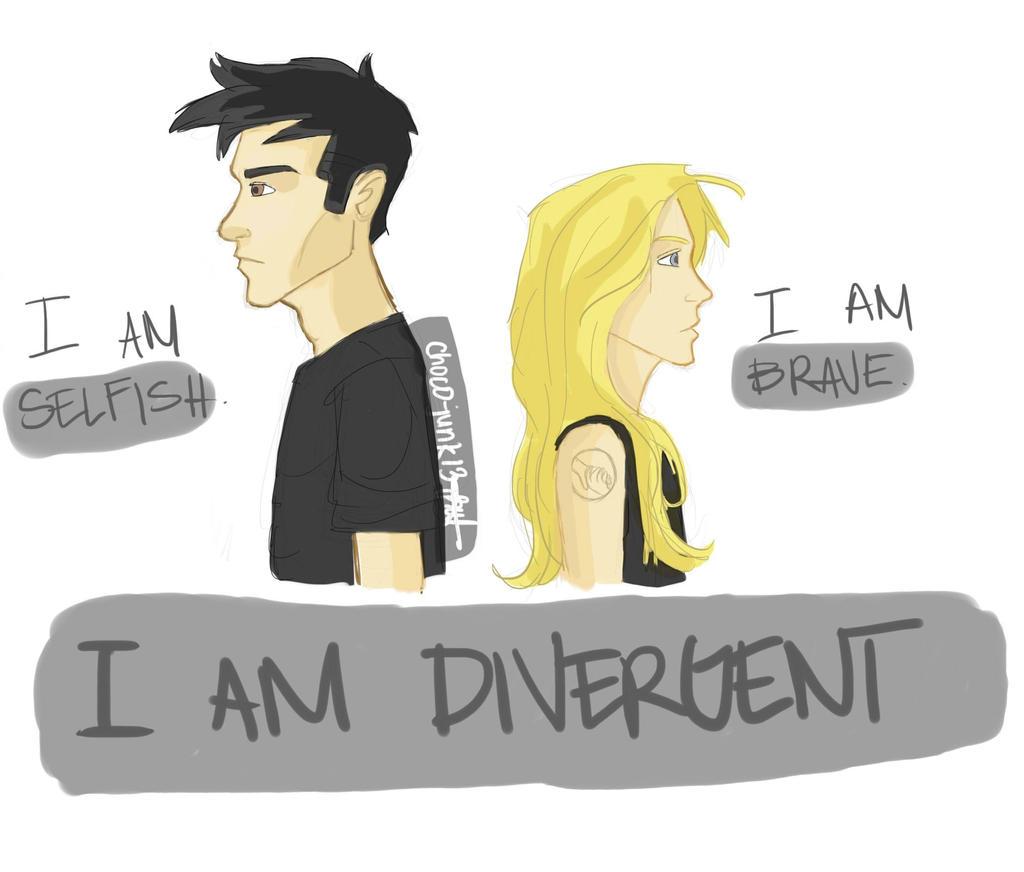 i am divergent by chocojunk on deviantart