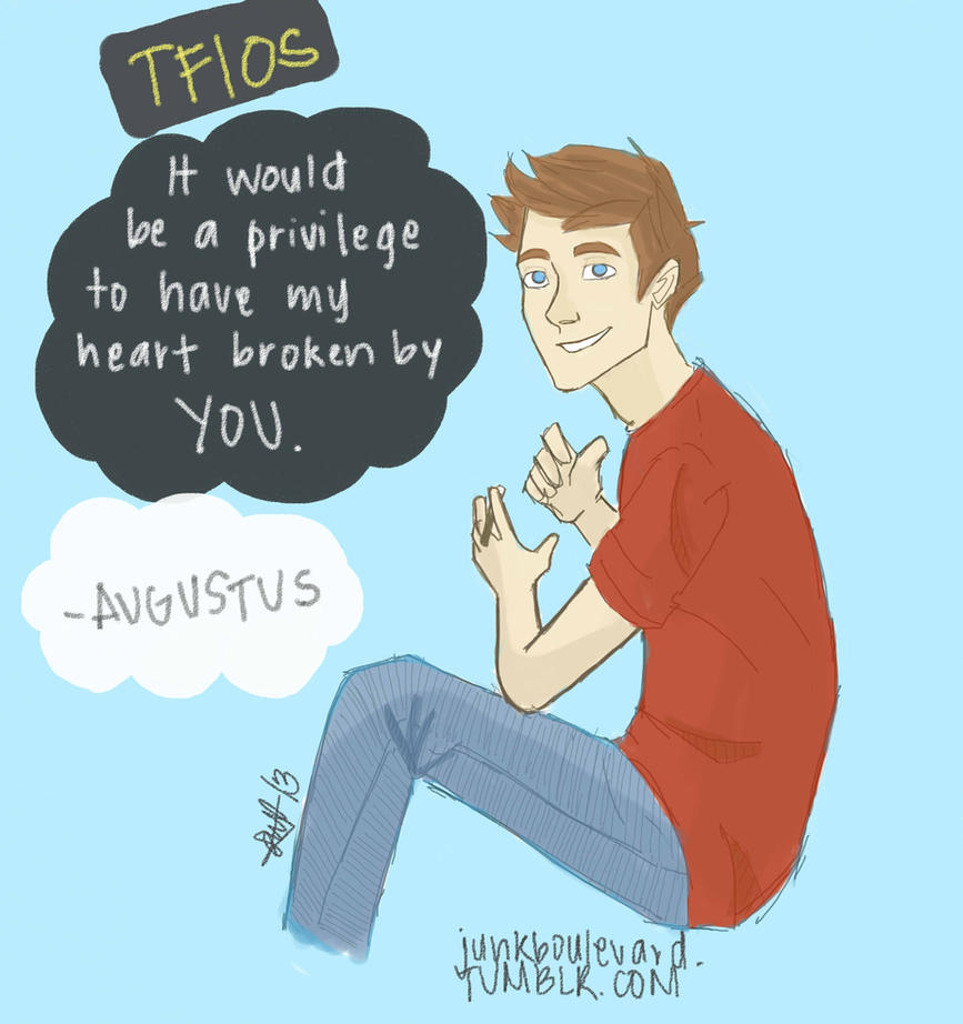 Augustus Waters by choco-junk