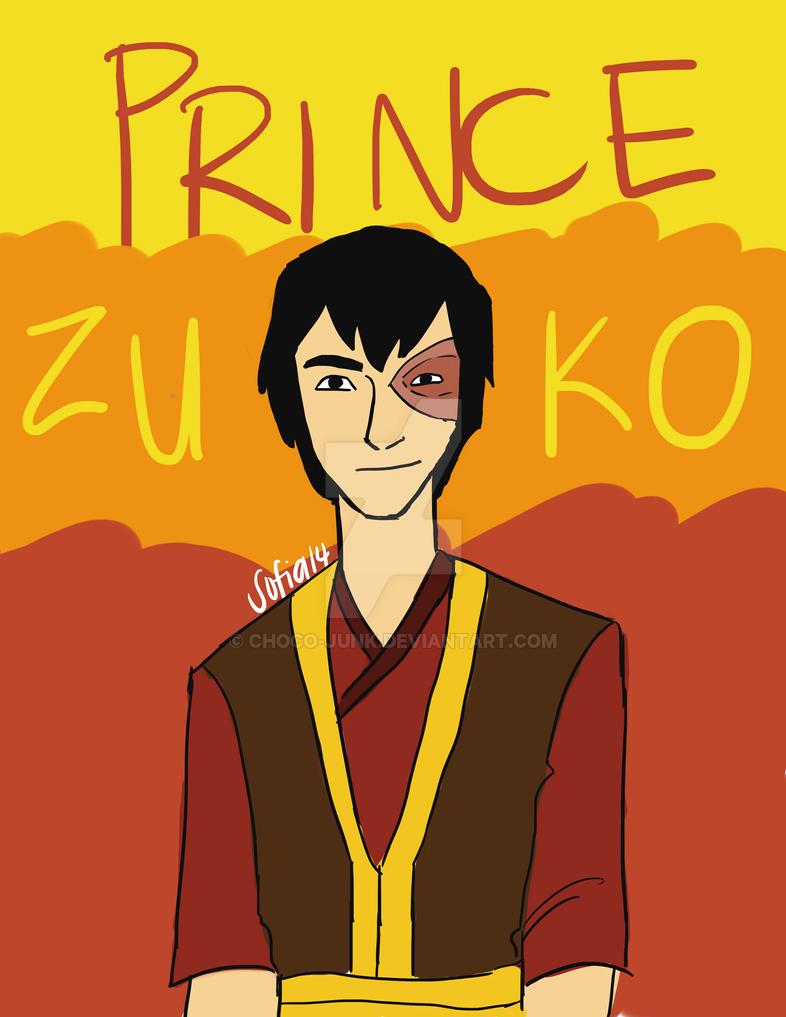 Prince Zuko by choco-junk