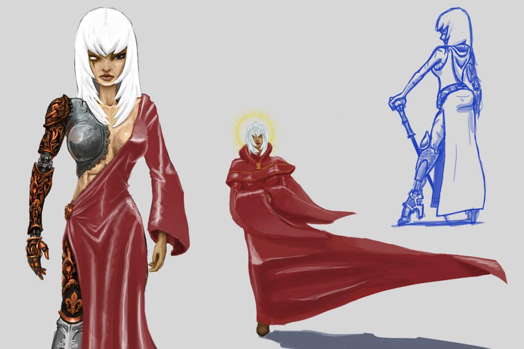 Canoness Superior Saphor by Baka-design