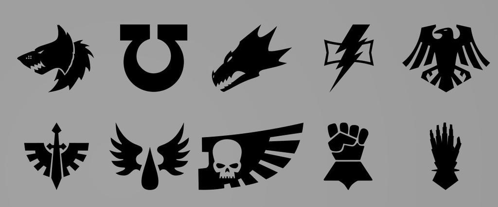 Warhammer 40000 Symbols For Download By Baka Design On Deviantart