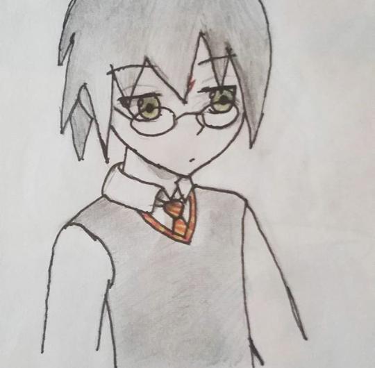 Yep, I drew Harry by KanekiAru