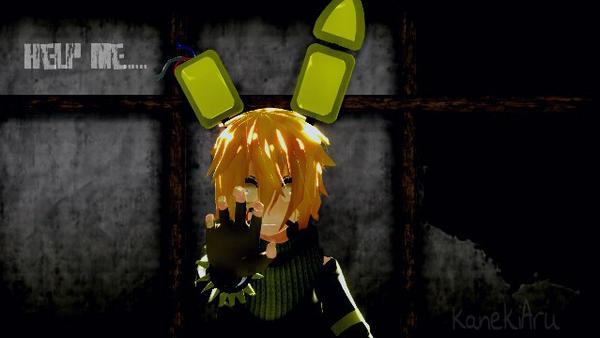 [MMD  FNAF] Help me... by KanekiAru
