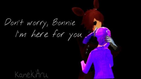 [MMD  FNAF] Don't worry by KanekiAru