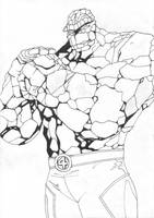 The Thing - Inked by Meggles80