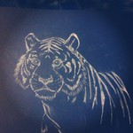 Charcoal Tiger by TheDevilsOrchard7