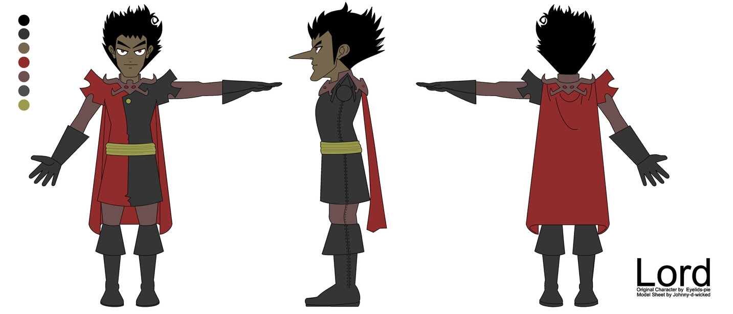 Anime Character 2d : Anime character model sheets imgkid the image