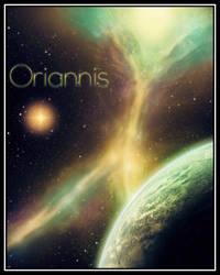 Treetop Nebula Painting by Oriannis
