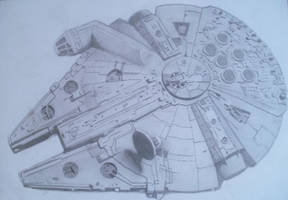 Millennium Falcon by Slayerlane