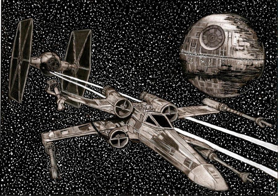 Star Wars Dogfight by Slayerlane