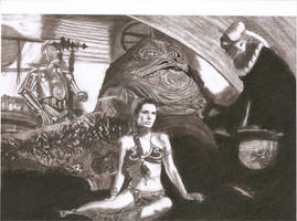 Jabba's Throne Room by Slayerlane