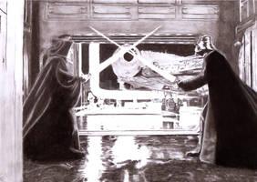 Death Star Duel by Slayerlane