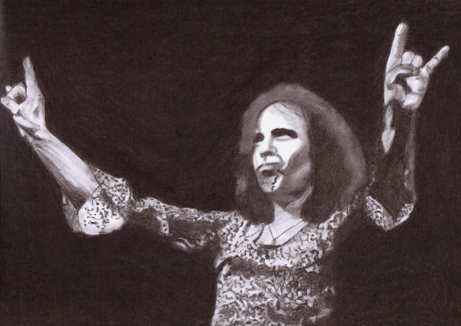 Ronnie James Dio by Slayerlane