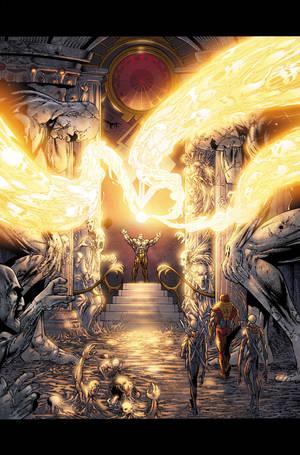 Ult. Fantastic Four 50 p1 by BlondTheColorist