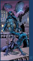 Gotham City by BlondTheColorist
