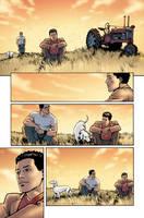Superman 694 p17 by BlondTheColorist