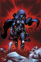 Deathmatch 4 cover by BlondTheColorist
