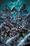Forever Evil: Arkham War 1 cover