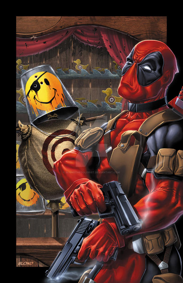 Deadpool by BlondTheColorist