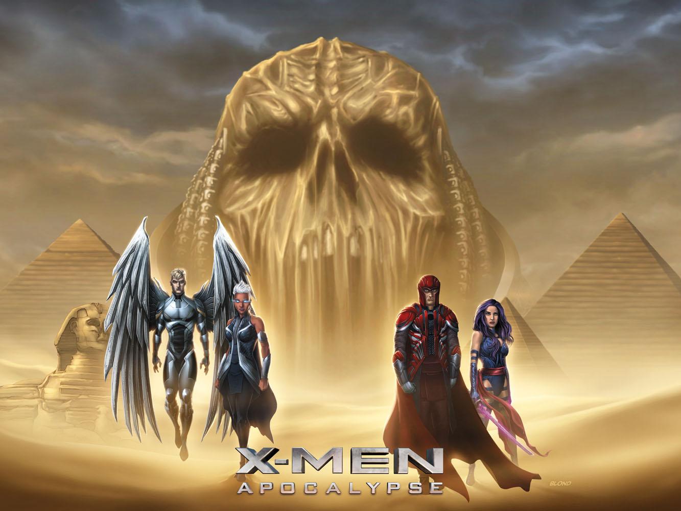 X-Men: Apocalypse by BlondTheColorist