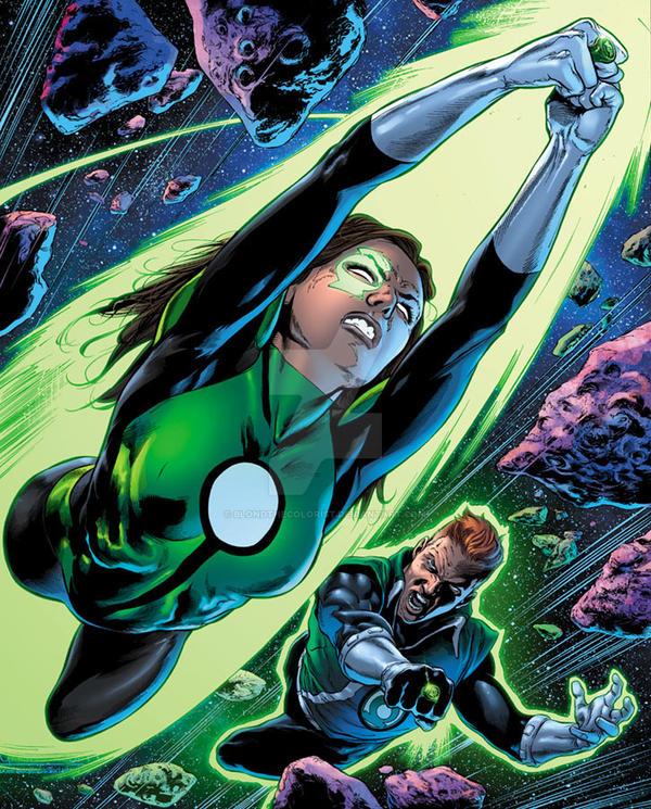 Green Lanterns 23 p2 by BlondTheColorist