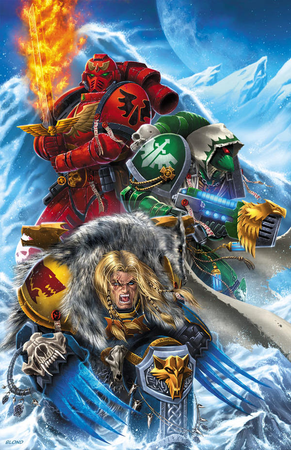 Warhammer Christmas Card