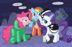 Ponies in power suits