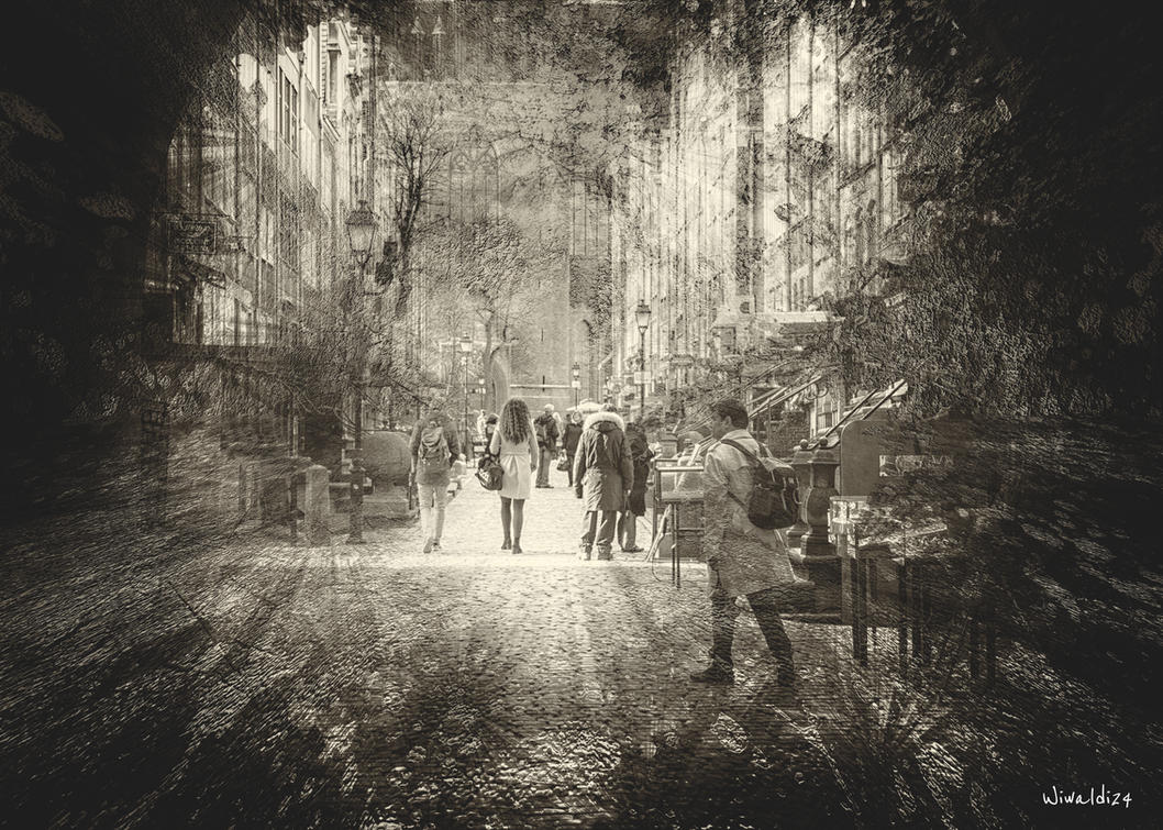 Gdansk black - white 2 by wiwaldi24