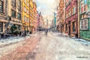 The Long Lane in Gdansk 2 by wiwaldi24