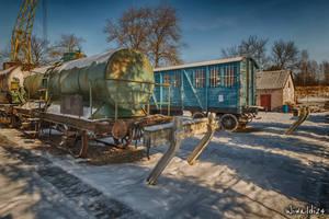 An open-air museum in Koscierzyna