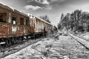 Ghost train by wiwaldi24