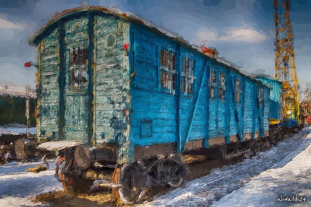 An old wagon by wiwaldi24