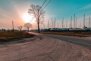 Wintering boats by wiwaldi24