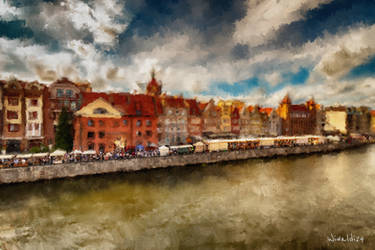 Painted Gdansk by wiwaldi24