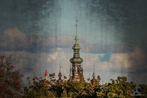 Church of St. Catherine in Gdansk by wiwaldi24
