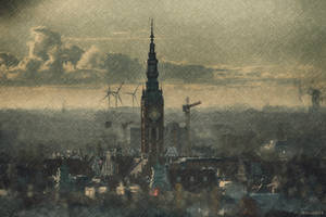 A city above the clouds by wiwaldi24