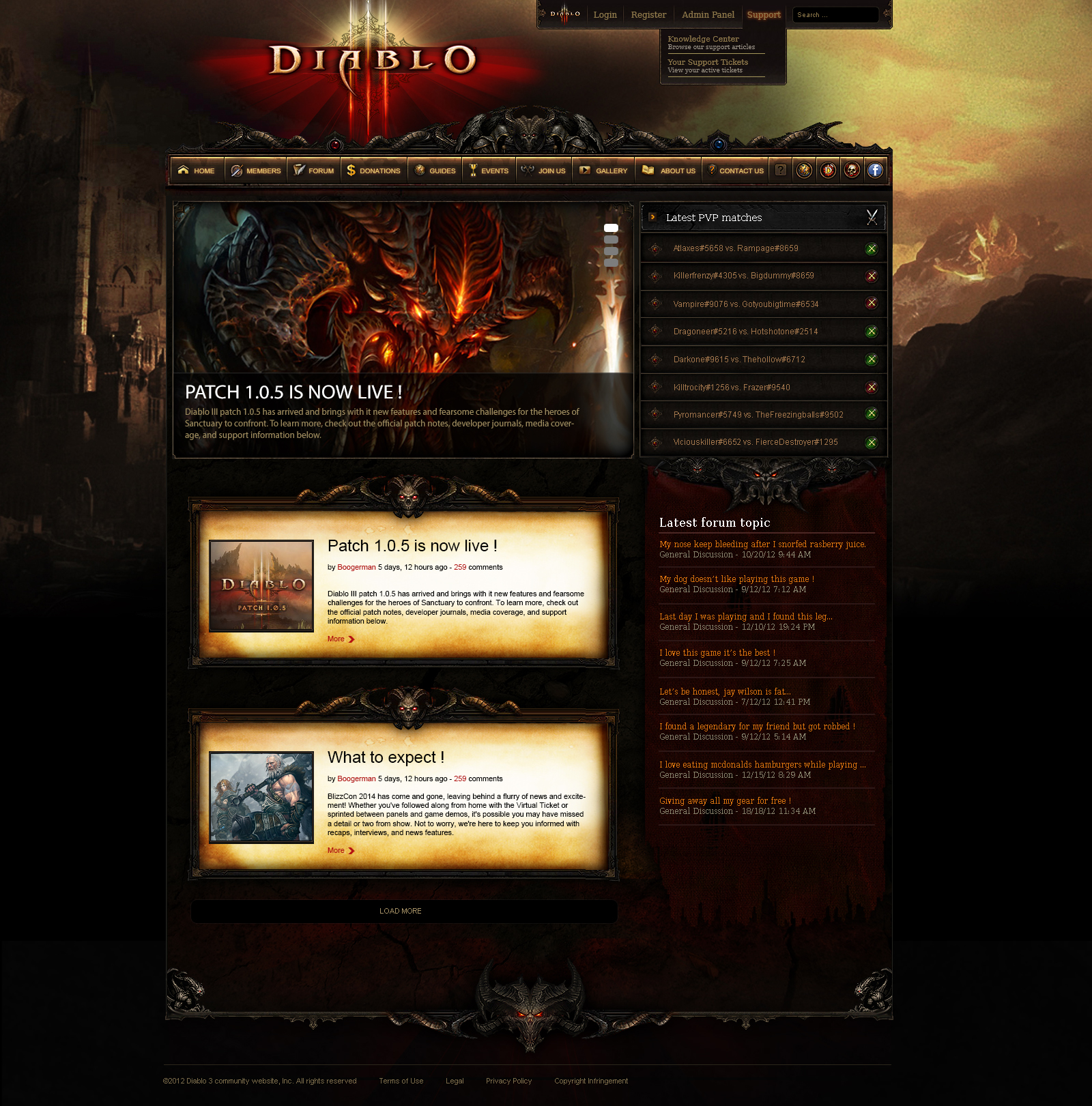 Website Templates favourites by MoonshadowXV on DeviantArt