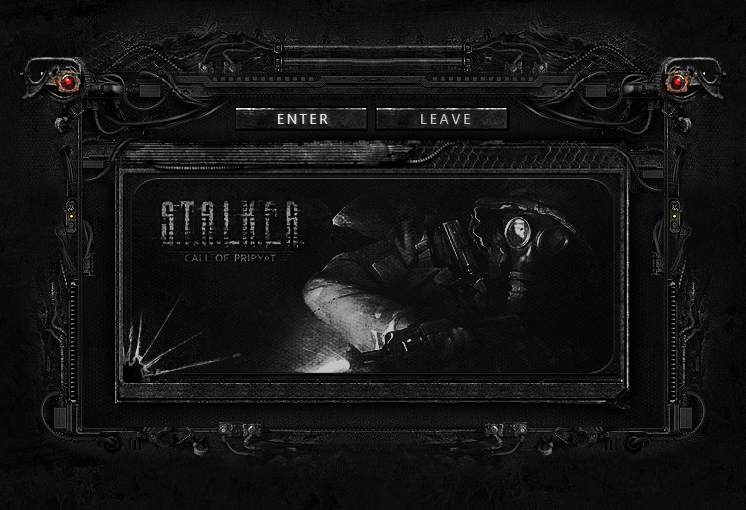 S.T.A.L.K.E.R Interface page intro by mazzery