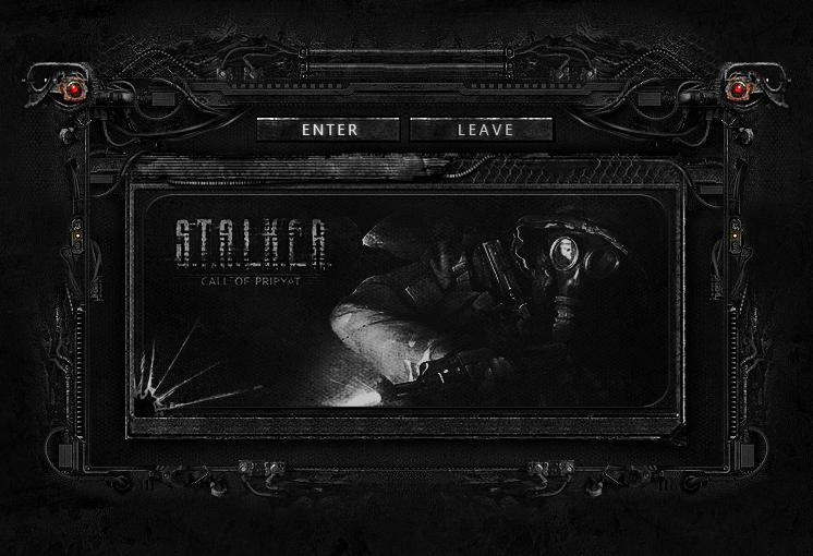 S.T.A.L.K.E.R Interface page intro by mazzery
