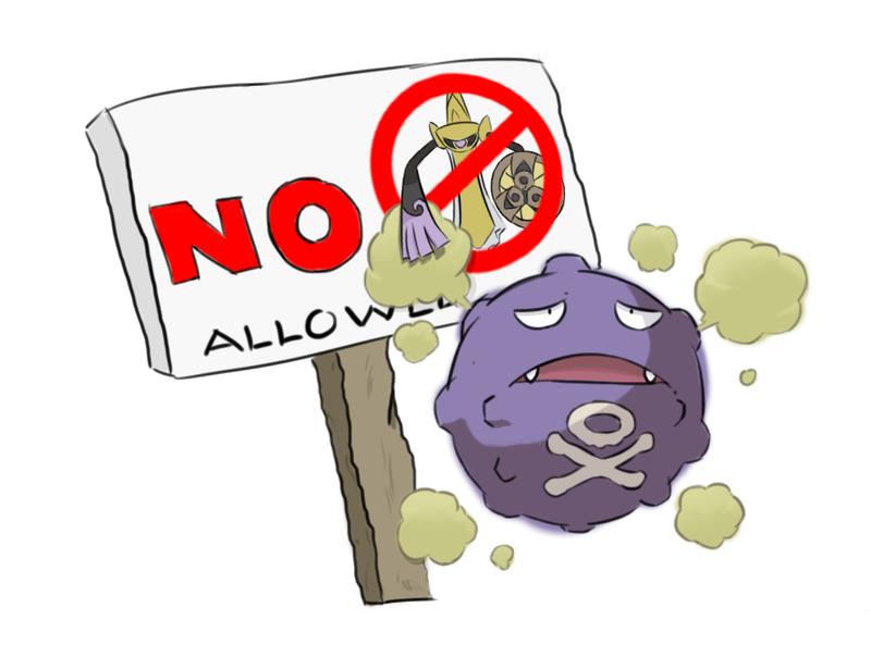No Aegislash Allowed by Slivius