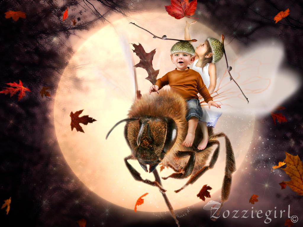 Acorn Elves by Zozziegirl
