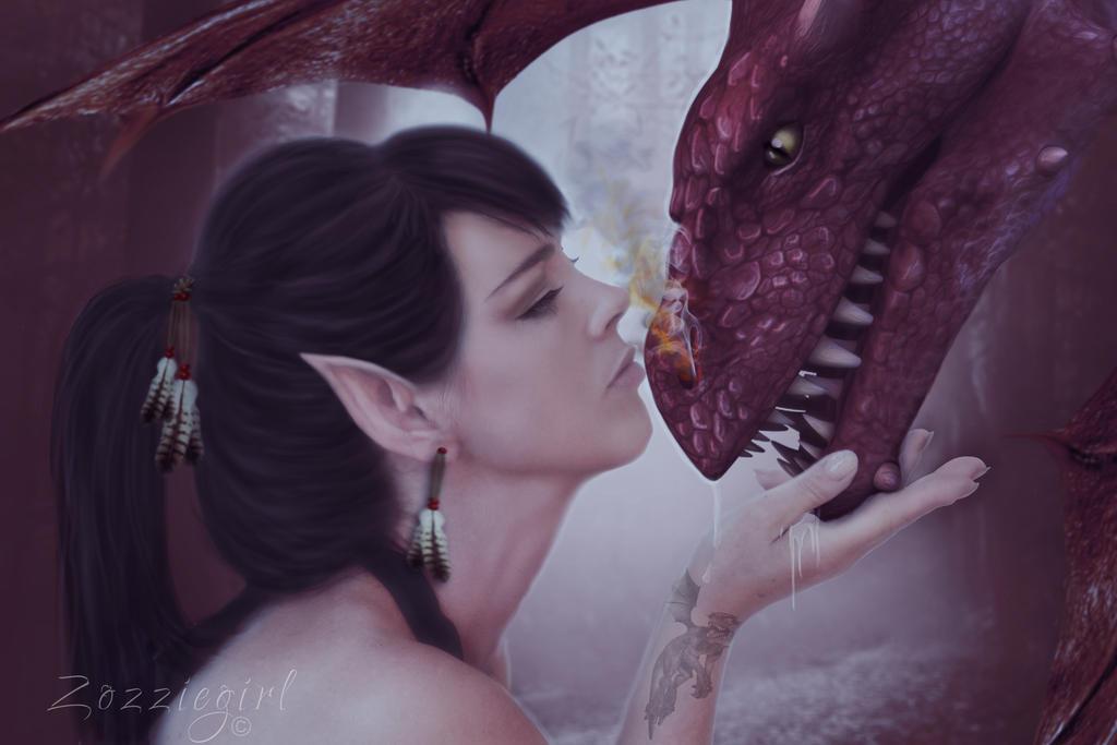 Dragon Whisperer. by Zozziegirl