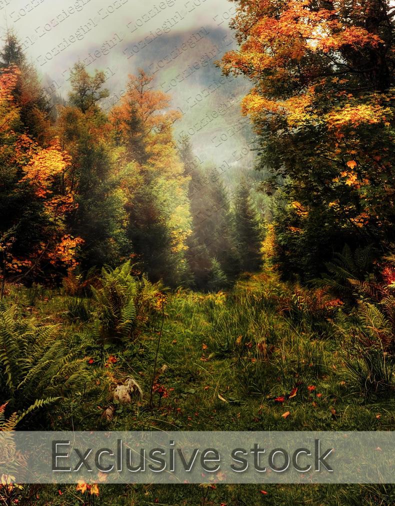 Autumn Forest-premade by Zozziegirl