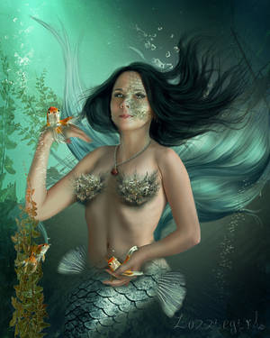 Mermaids World. by Zozziegirl