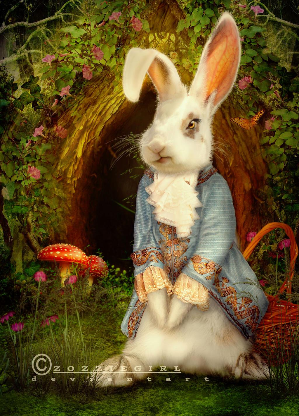 E.B aka Easter Bunny by Zozziegirl